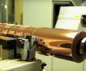グラビア印刷の製版作業