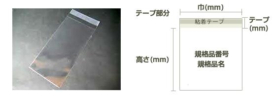 OPP規格品typet 説明早川製袋