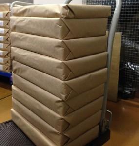 OPP袋包装荷姿